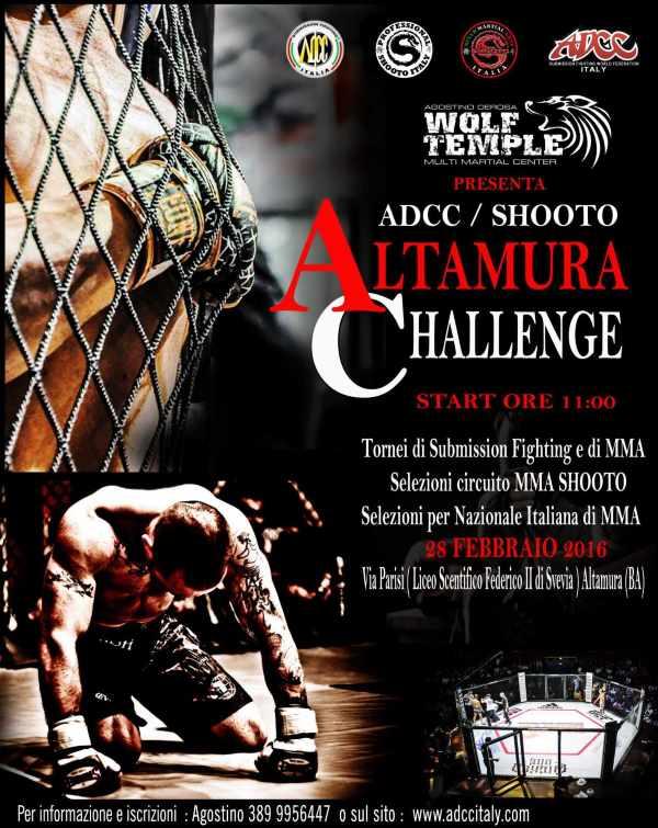 ADCC Italy Altamura Challenge 2016 February