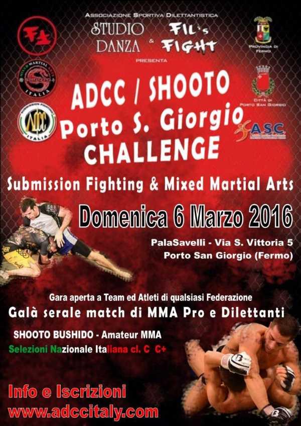 ADCC Italy - Porto San Giorgio Challenge 2016 March
