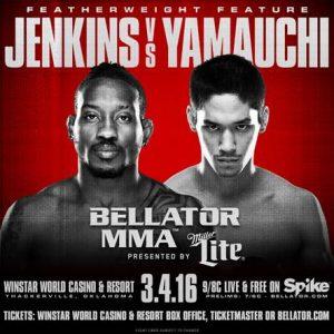 Bellator 151 - Jenkins vs. Yamauchi