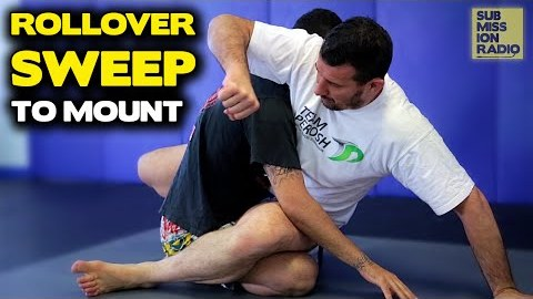 Rollover Sweep to Full Mount - By UFC's Anthony Perosh YouTube Thumbnail