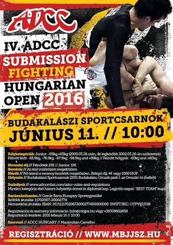 ADCC Hungarian 4th Open 2016 June