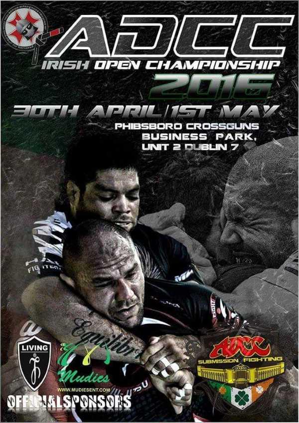 ADCC Irish Open 2016 April
