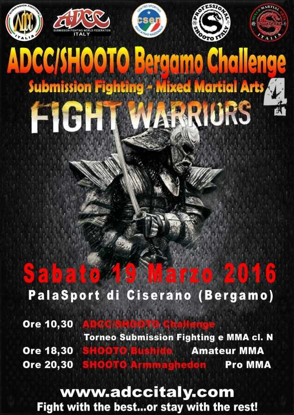 ADCC Italy Bergamo 4th Challenge 2016 March