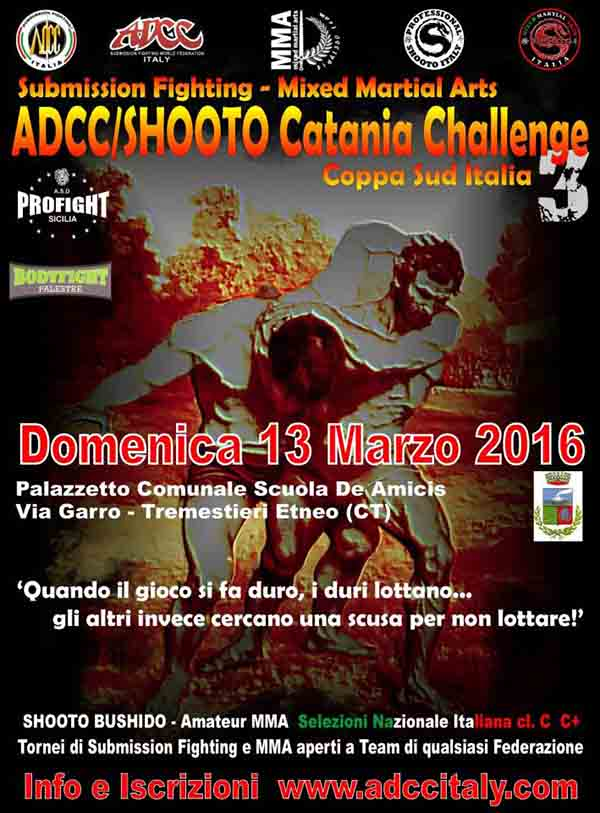 Italy ADCC Catania 3rd Challenge 2016