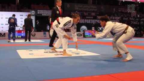 Ariadne Oliveira vs Anna Kavoura Brown - Black belt Female 55kg YouTube Thumbnail
