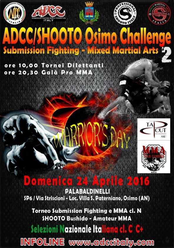 ADCC Italy - 2nd Osimo Challenge 2016 April