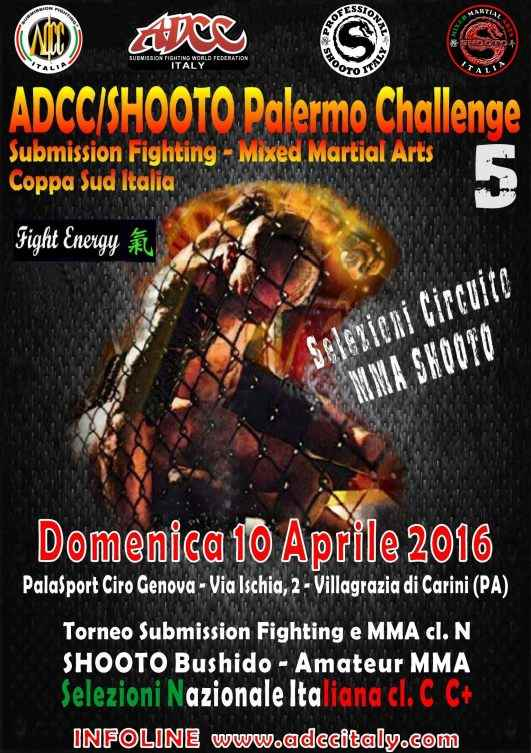 ADCC Italy 5th Palermo Challenge April