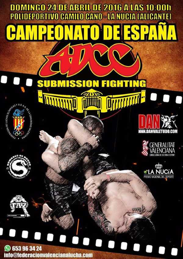 ADCC Spanish Open 2016 April
