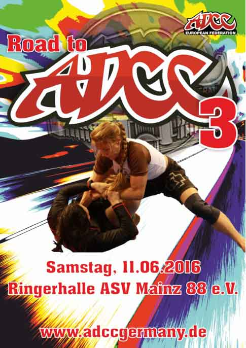ADCC – Road to ADCC 3 Germany 2016 June