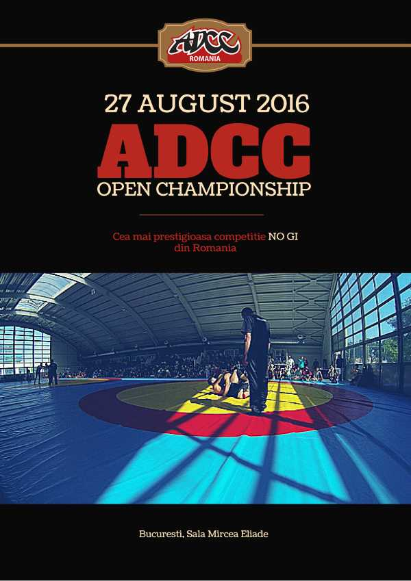 ADCC Romania Open 2016 August