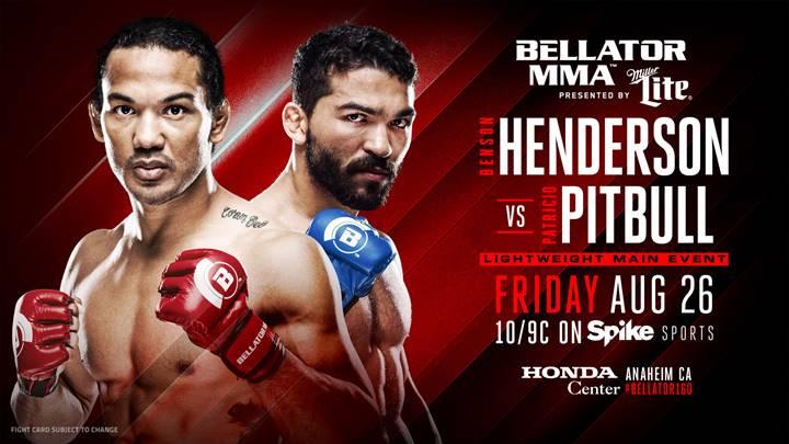 Bellator 160- Henderson vs. Pitbull
