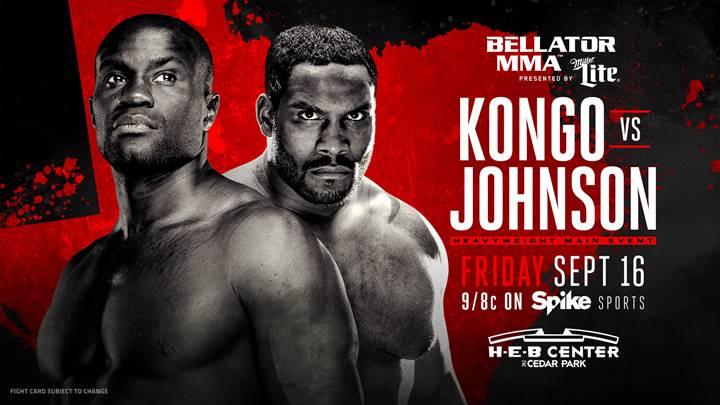 Bellator 161- Kongo vs. Johnson