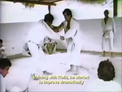 Rickson Gracie vs Rolls Gracie YouTube Thumbnail