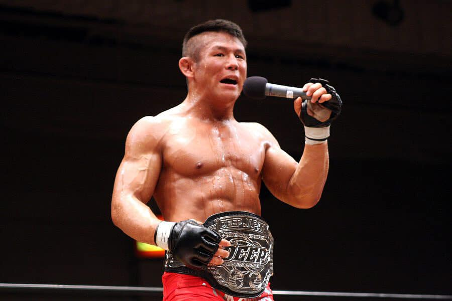 Satoru Kitaoka is still the current DEEP lightweight champion and he is looking to get Pancrase belt back
