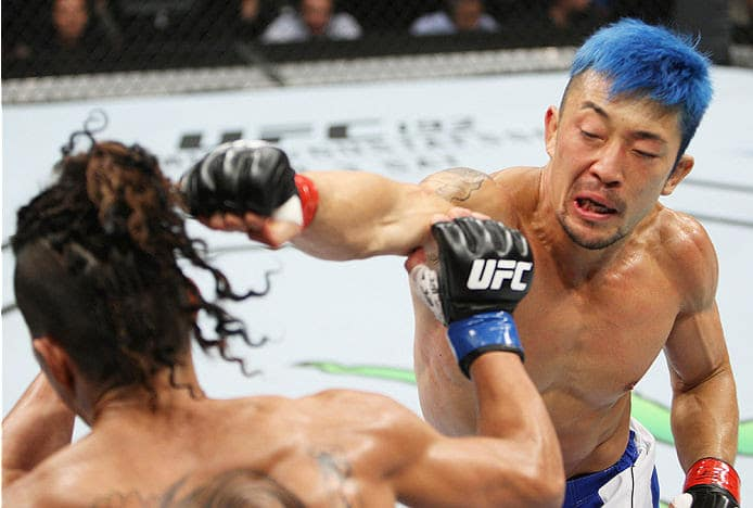 Mizuto Hirota (right) is finally getting a second chance in the UFC