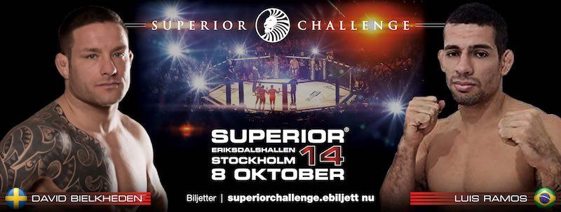 Superior Challenge 14 David Bielkheden vs Luis Ramos