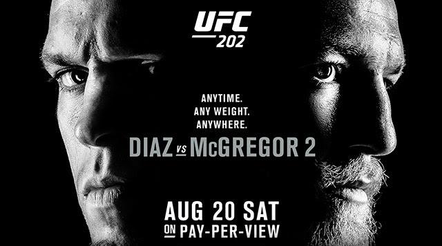 UFC 202 banner