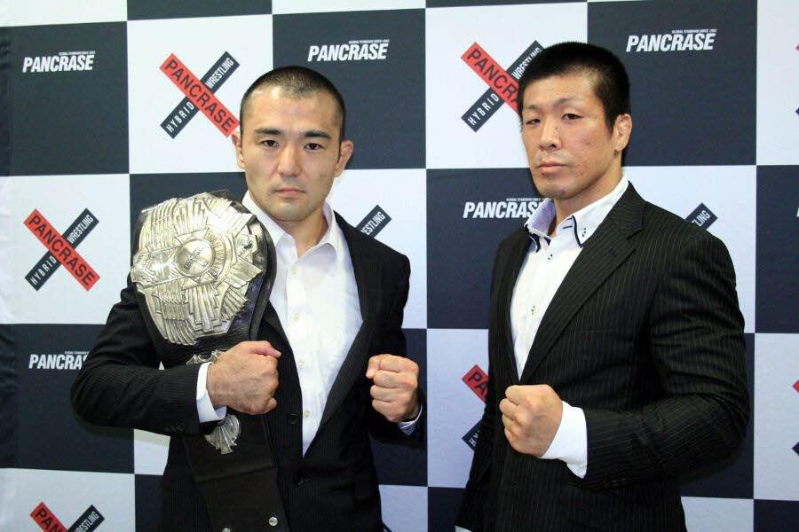 Akihiro Murayama (L) and Hiromitsu Miura (R)