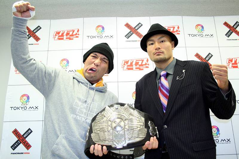"""Rocky"" Kawamura (left) and Yuki Niimura (right)"