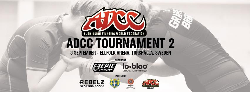 ADCC Swedish 2 Tournament 2016 September