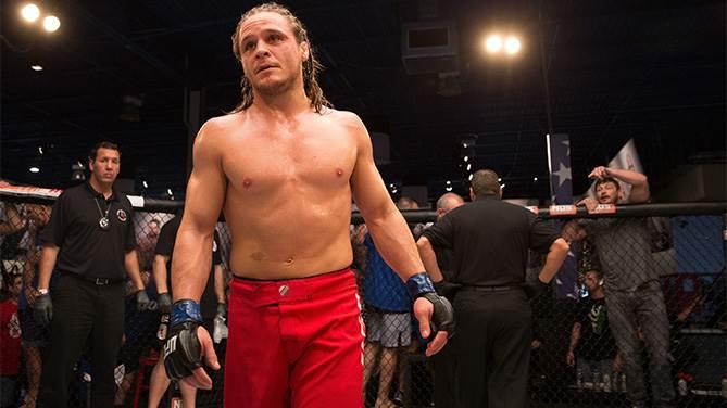 UFC welterweight Michael Graves