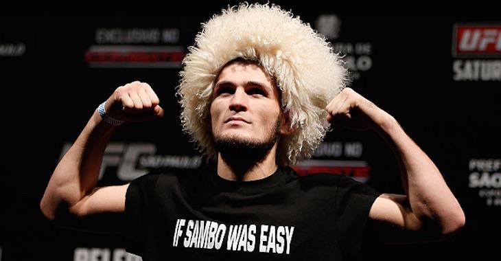 UFC lightweight Khabib Nurmagomedov