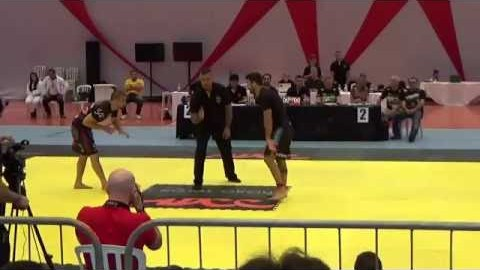 Garry Tonon vs Lucas Lepri. Quarterfinals under 77kg ADCC 2015 YouTube Thumbnail