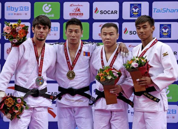 Men -60kg medalists Qingdao2016