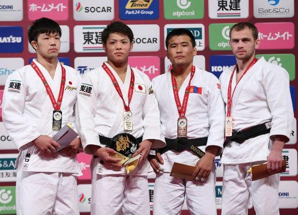 Men -66kg medalists Tokyo2016