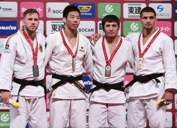 Men -81kg medalists Tokyo2016
