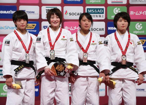 Women -52kg medalists Tokyo2016