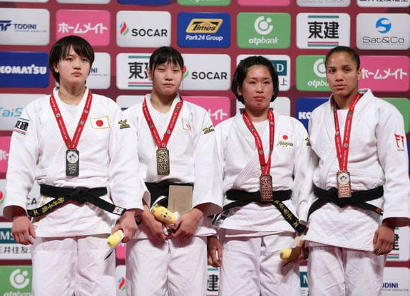 Women -70kg medalists Tokyo2016