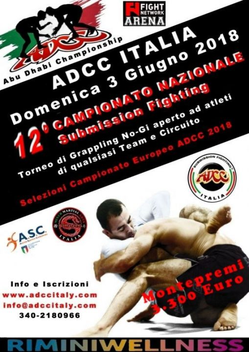 ADCC Italy Nationals 2018