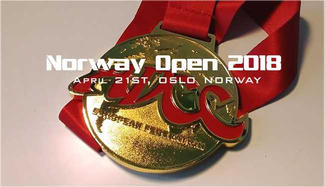 ADCC NORWAY OPEN 2018