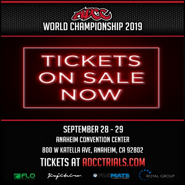 ADCC West Coast Trials 2019 Competitor List • ADCC NEWS