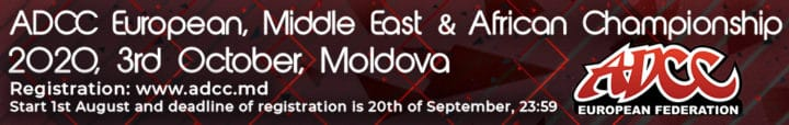 ADCC EUROPEAN, MIDDLE EAST AND AFRICAN TRIAL 2020 banner 1032x164