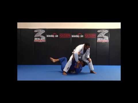 Jiu Jitsu Students - Pegando as costas partindo da guarda aranha