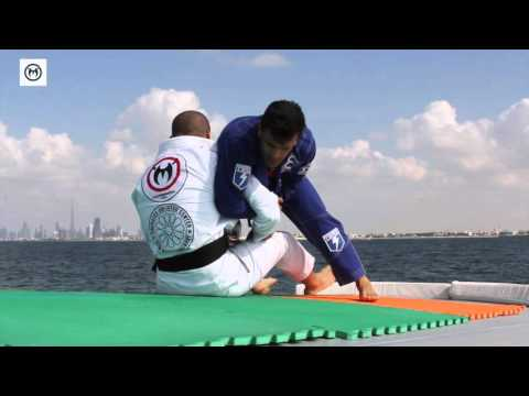 Rubens Charles Cobrinha shows Drills with Rafael Haubert on Boat in Dubai Team Nogueira TV